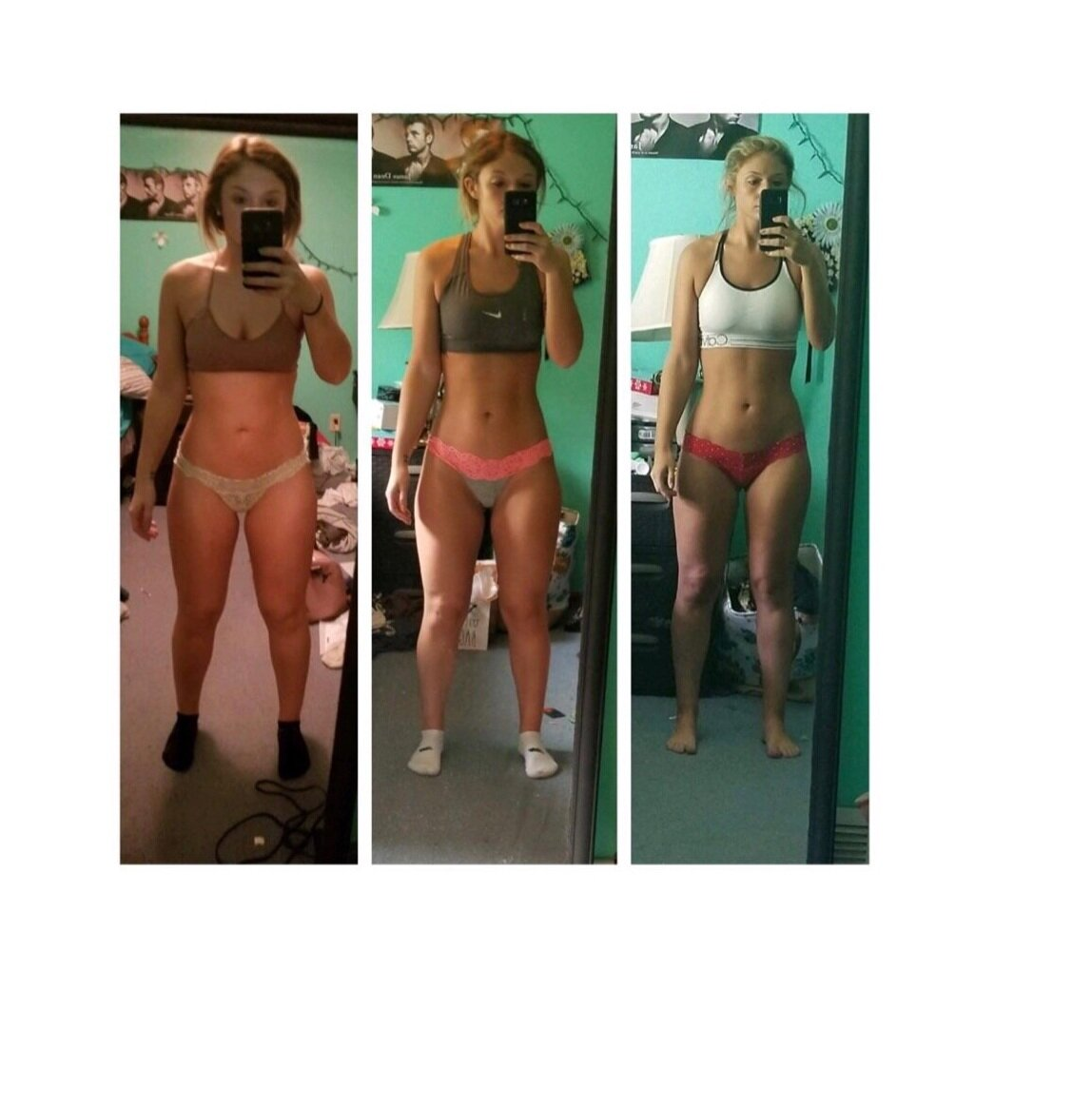 Ashlyn Sicliano - Before I started working with Jacklyn, I had tried every crash diet, every workout and different coaches. I had been involved with 2 coaches who did not know I existed and told me that my lack of progress had nothing to do with my macros, and was because I was negative and clearly not working hard. I felt restricted and controlled by food. I remember messaging Jacklyn and she made me realize that I was being bullied and I should work with her so I can see how a coach should be. Ever since this message I have been working with her, I am even going on my 4th challenge as a client. I no longer hate food, I am able to form a lifestyle where I still enjoy what I want and yet don't have to enter every single bite into MyFitnessPal. She has completely changed my relationship with food and the gym and I have never felt more supported. I am the most confident and strong that I have ever been and I owe it all to Jacklyn and her programs.