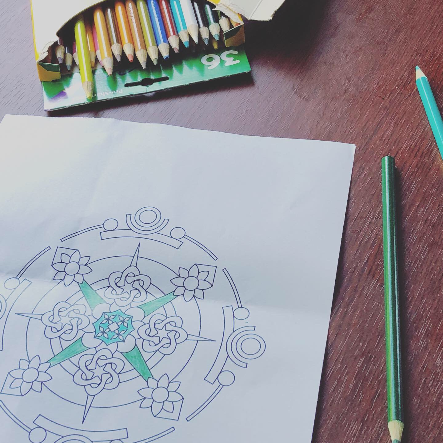 Yoga in the Office - Coloring