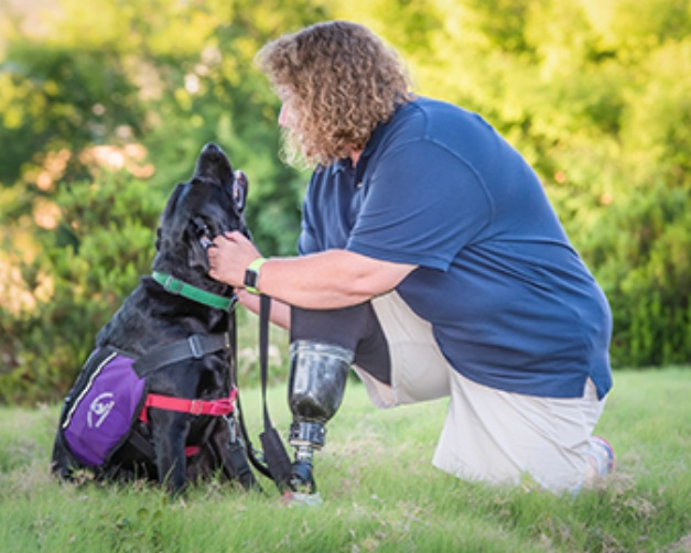 Be part of the everlasting impact on all whose lives are touched by TLCAD service dogs.