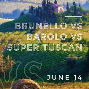 Brunello vs. Barolo vs. Super Tuscan  Il Ristorante de Giorgio Baldi   June 14, 2018
