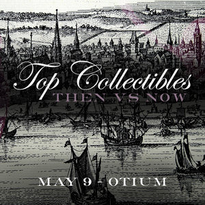 """Top Collectibles - """"Then vs. Now"""" Dinner  Otium Los Angeles May 9, 2018"""