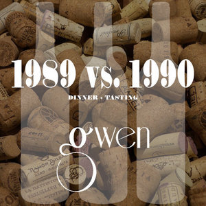 The 1989 vs. 1990 Dinner  Gwen Los Angeles March 22, 2018