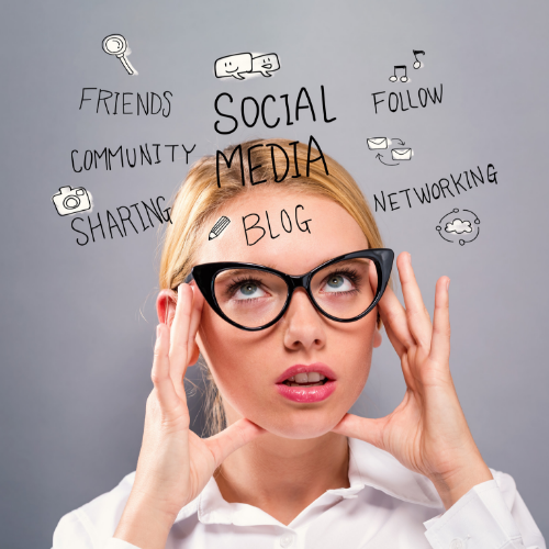 Can you relate? - What type of post is best?How often should I be posting?What social media platforms are best?How can I reach my ideal clients?How do I keep up with engagement?