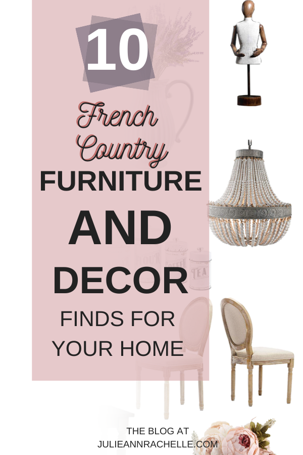 Hurry To See These 10 French Country Decor Finds Online Virtual Interior Design Julie Ann Rachelle