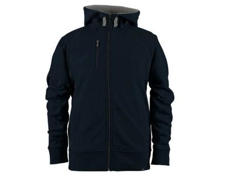 long sleeve full length fleece jacket