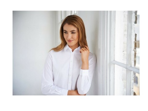Brook Taverner Ladies White Shirt
