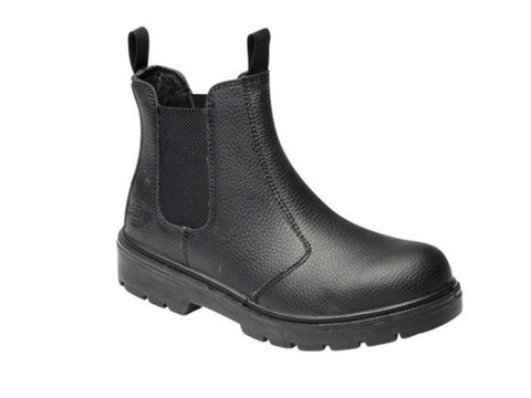 Black Short Safety Boots