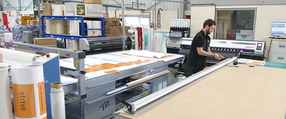Investment in New Large Format Printing & Finishing Equipment
