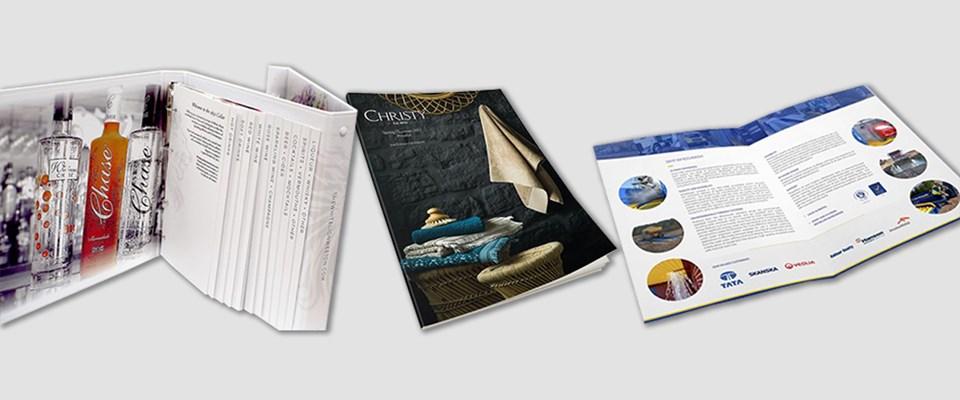 when paper type matters Menu, Brochure, Leaflet