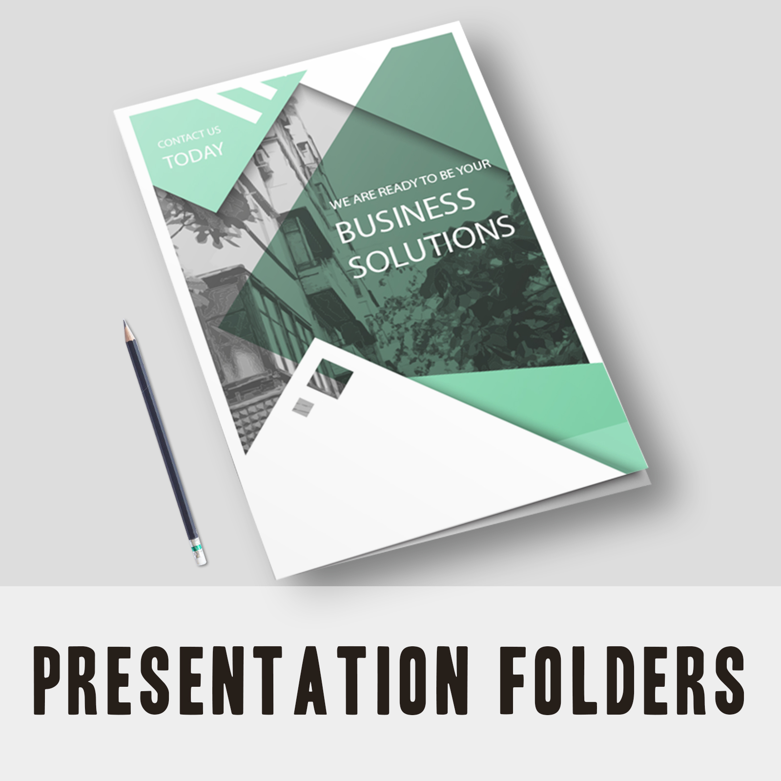Presentation Folder - Business Solutions