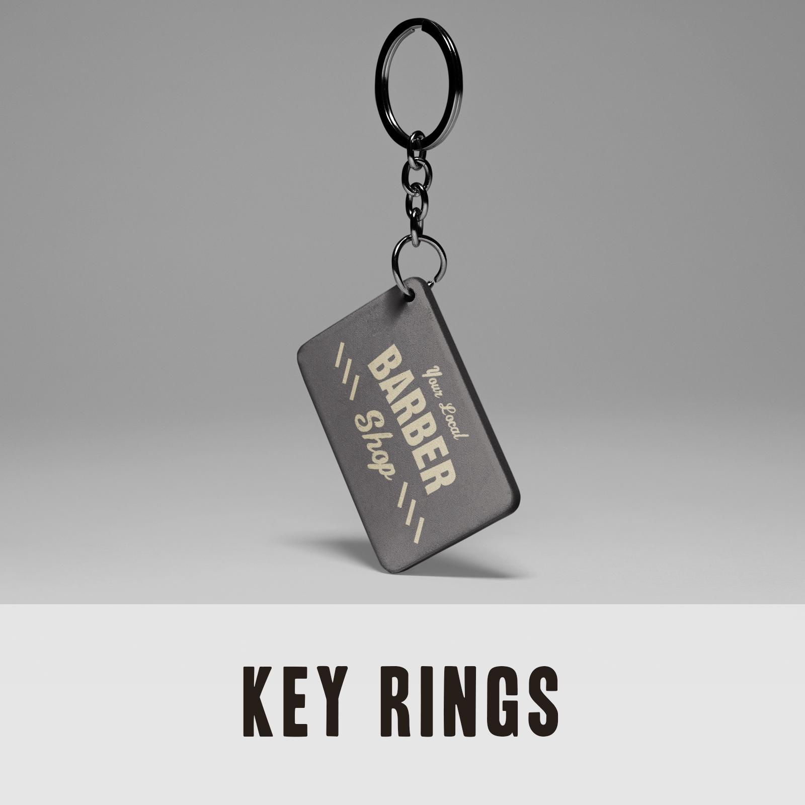 Keyrings - Barber Shop Keyring