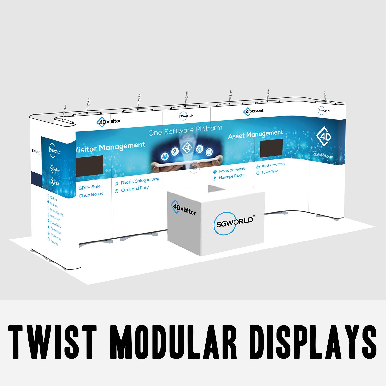 Twist Modular Displays