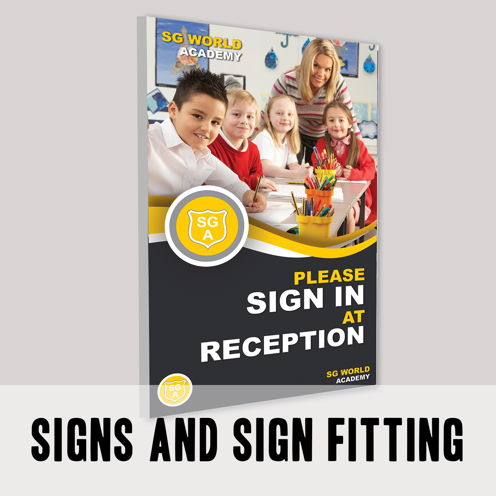 Signs and Sign Fitting