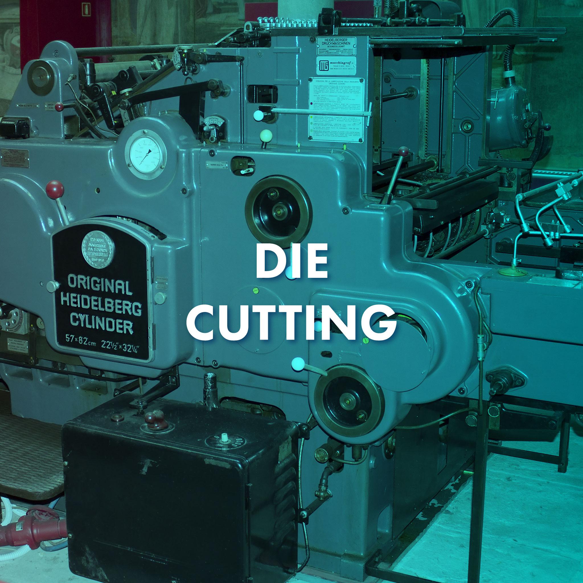 Original Heidelberg Die Cutting Machine