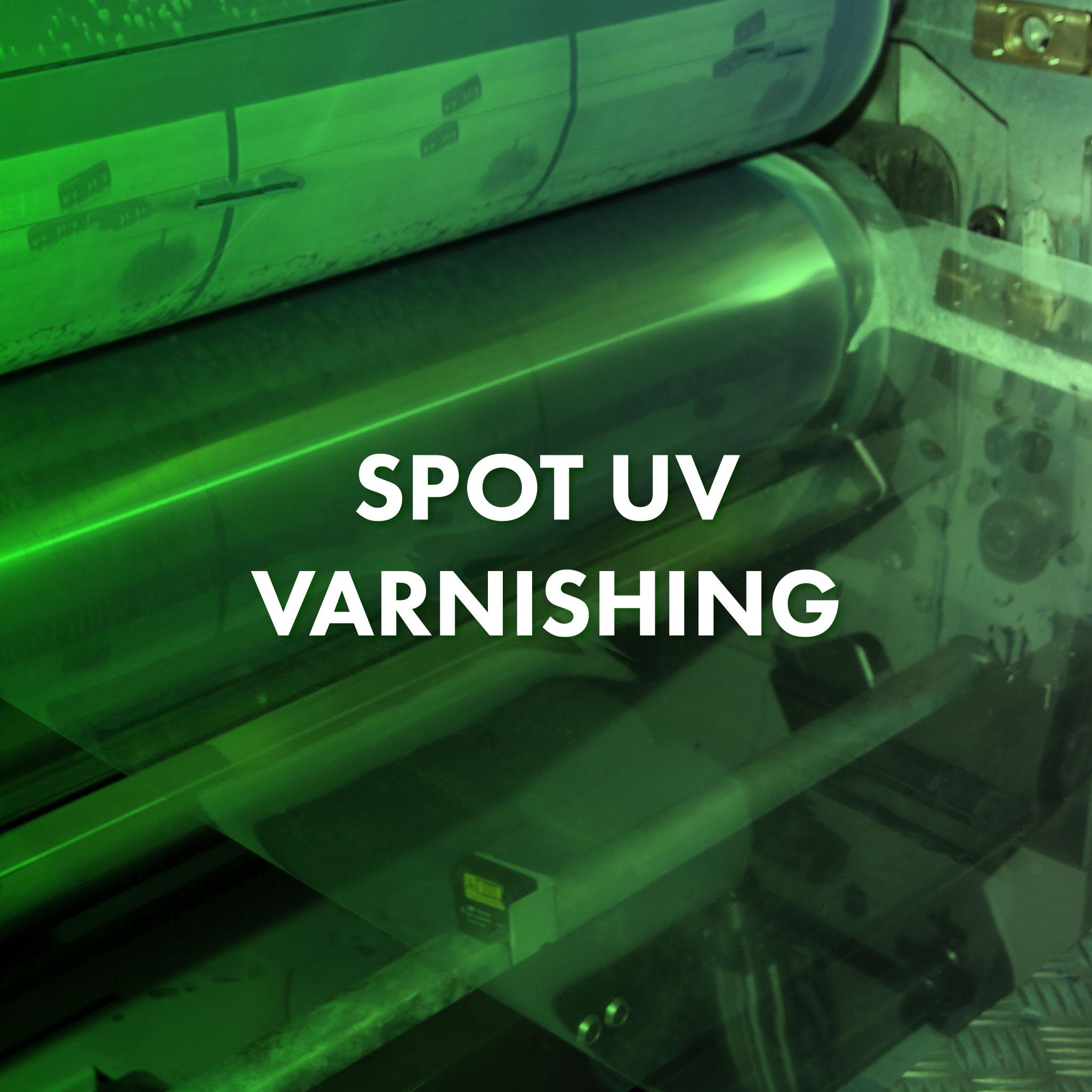 Spot Uv Machine