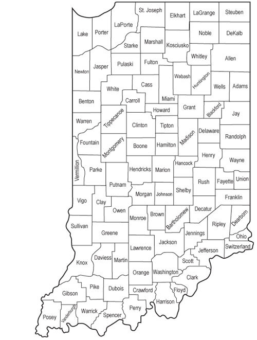 Able Hands Homecare Services the Following Counties: - Blackford, Grant, Howard, Huntington, Madison, Wabash, & Wells
