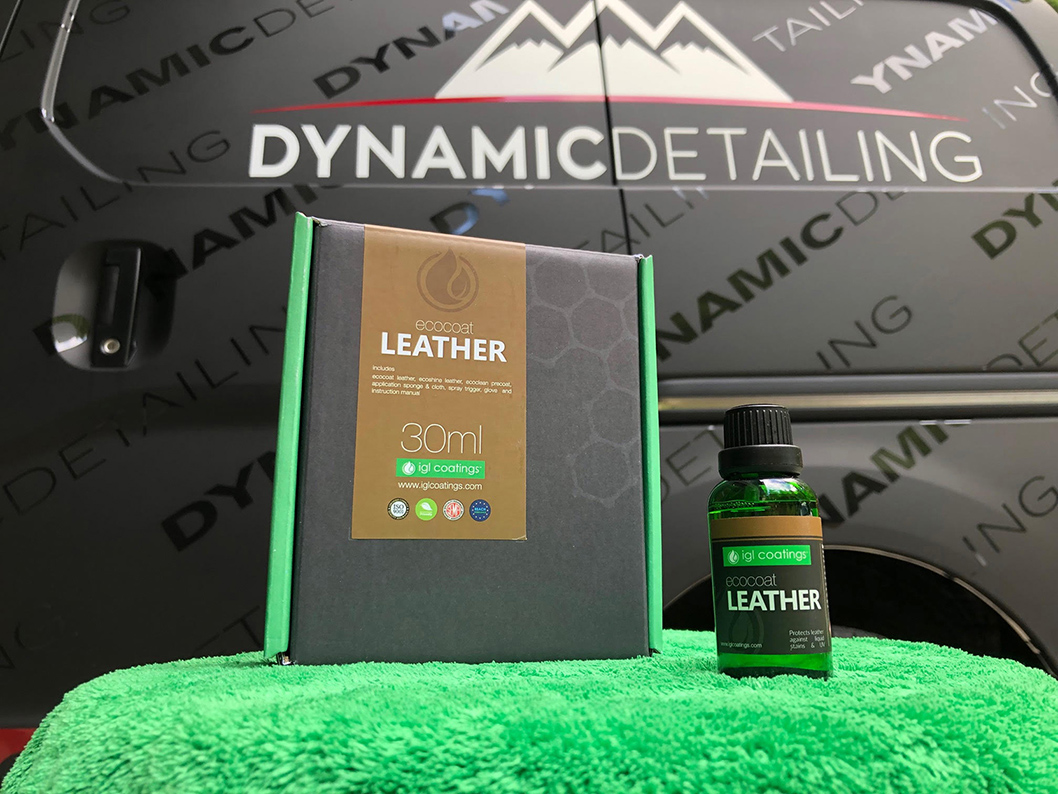 IGL Coatings Leather and Fabric Ceramic Coatings. Protection from spills, makes maintenance easy.