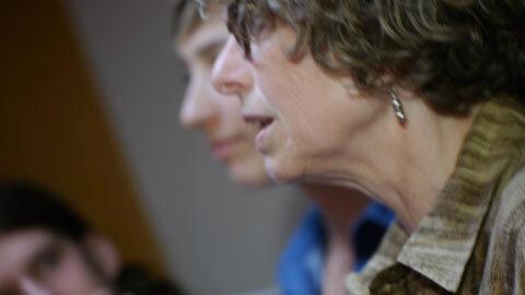 Kitty Brazelton, alto, composer of Essential Prayers, professor, rock performer