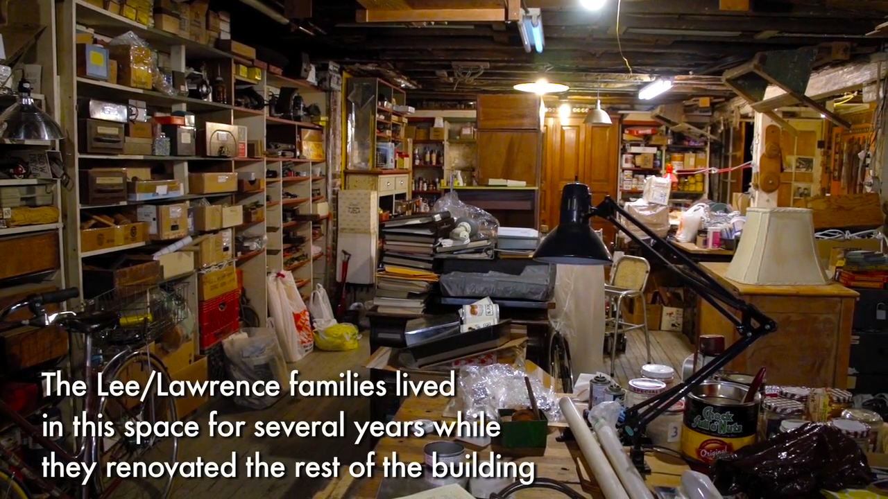 65 Pitt - Lee:Lawrence famillies lived downstairs while renovating.png