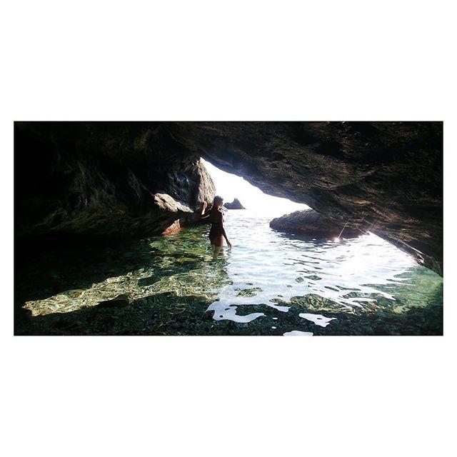 Secret cave, Italian Riviera. #CinqueTerre #Levanto #Italy #beach #paradise