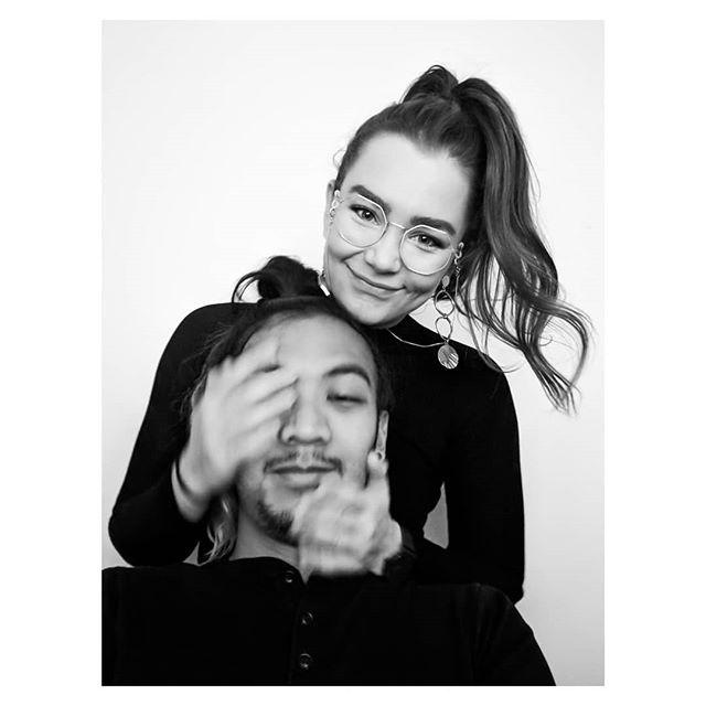 Selfie with her. #blackandwhitephotography #couple #photobooth #monochrome #blackandwhitephoto #portraitphotography #selfportrait