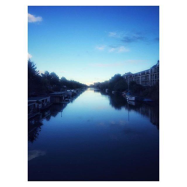 Amsterdam Blue. #Netherlands #river #bluesky