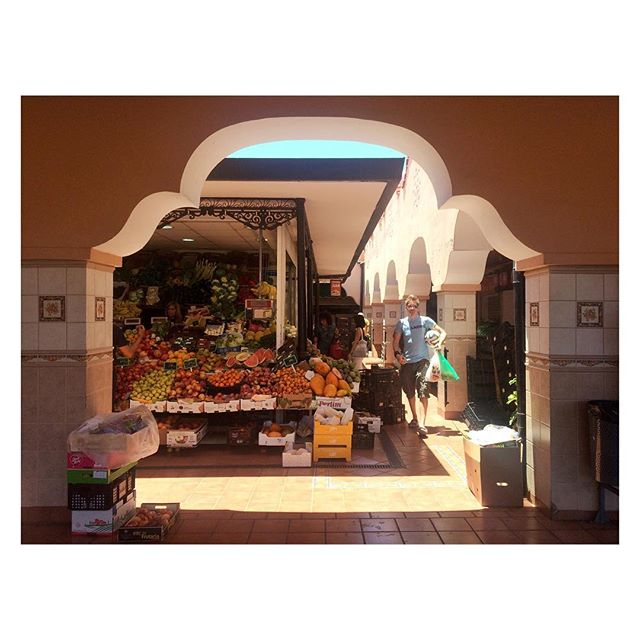 Fresh fruit tastes better on islands. #Tenerife #Spain #market #adventure #backpacking #travel #vacation