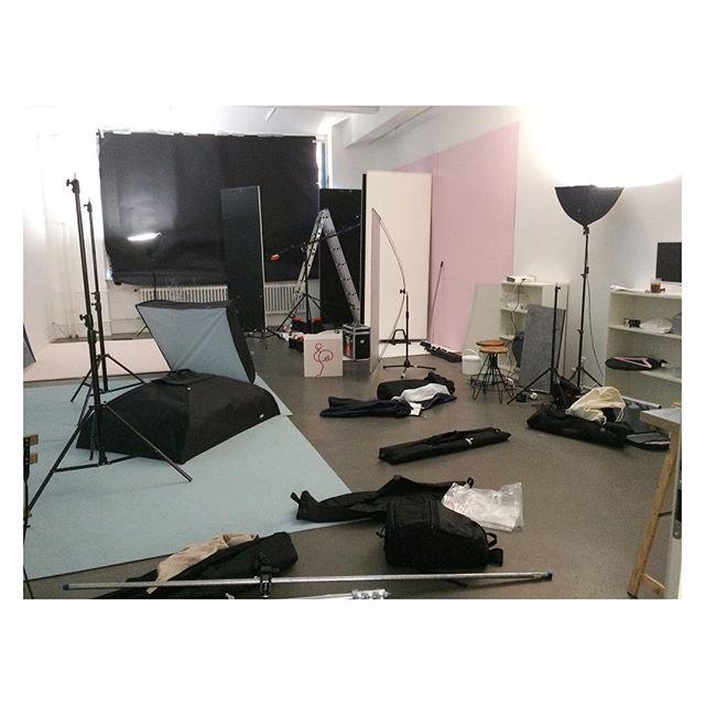 Messy studio. #sisterMAGstudio #Berlin #photographerproblems #photostudio #photographer #photographerlife #photoshoot #production