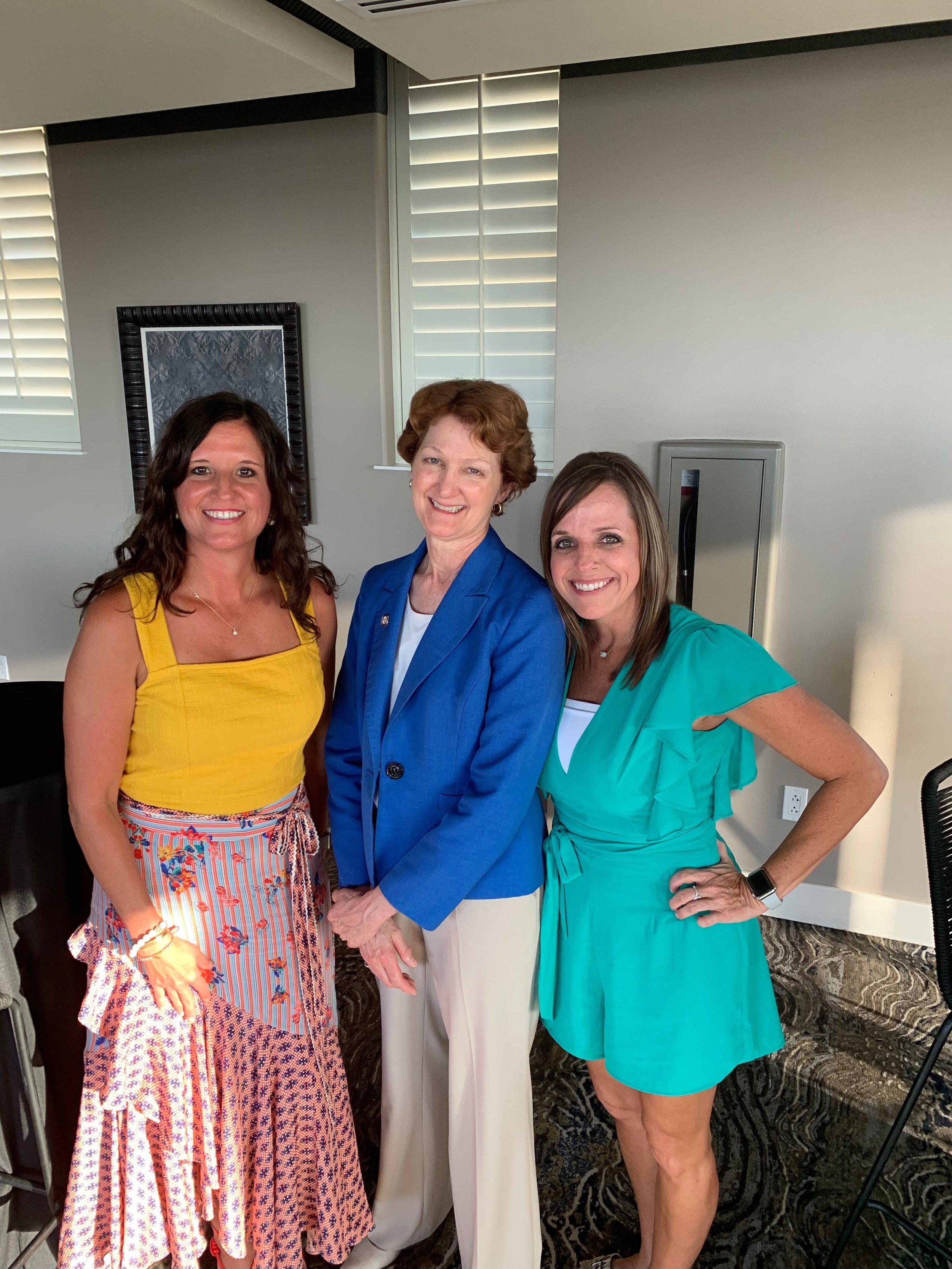 With Senator Floyd Celebrating SB 381