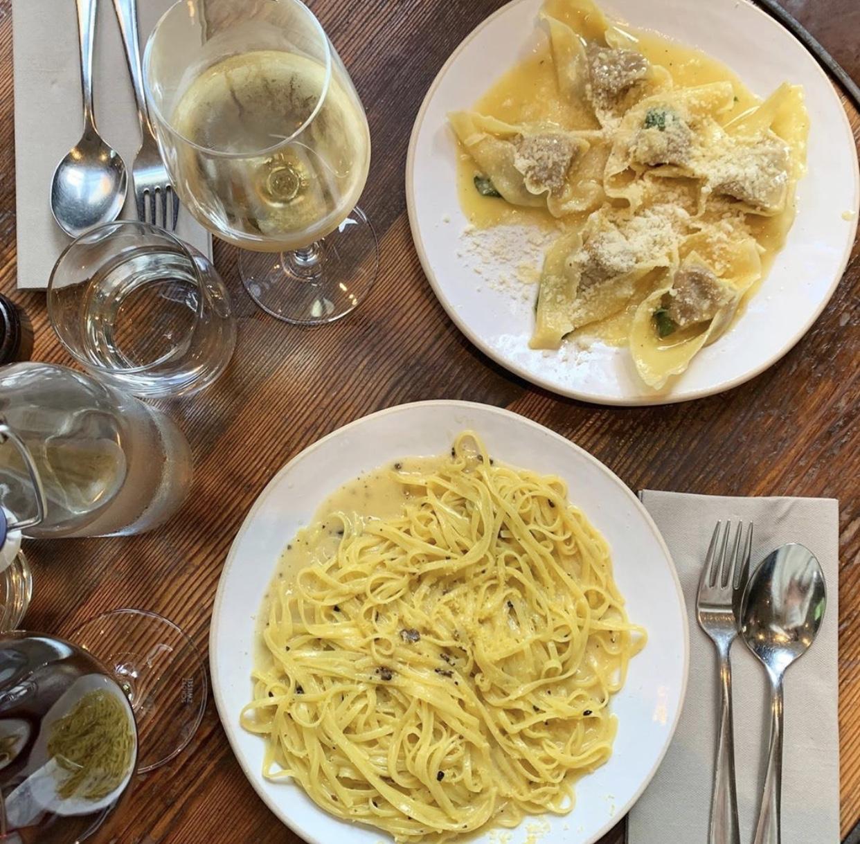 best pasta restaurants in London
