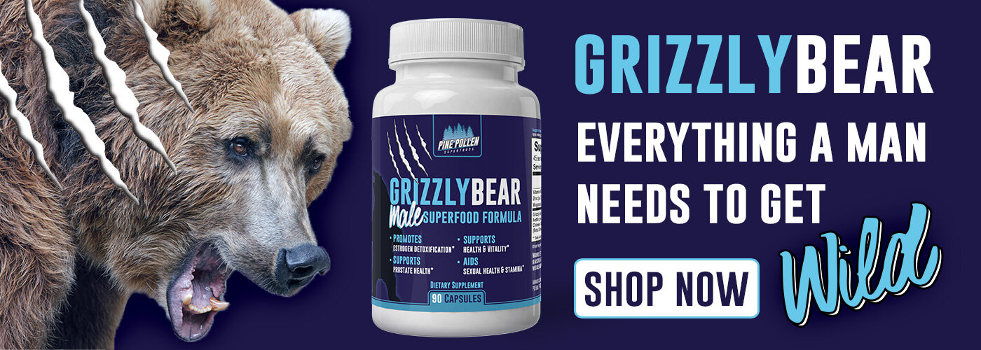 Interested in blocking and detoxing excess estrogen? Give our Grizzly Bear men's formula a try.