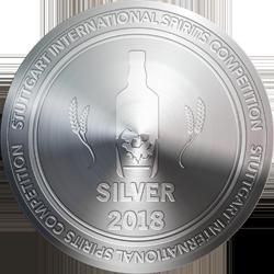 Stuttguart International Spirits Competition 2018 Silver.png