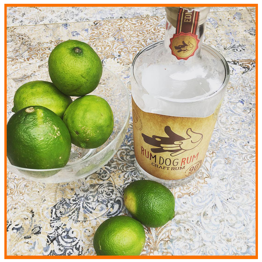 Rum Dog Rum with Lime