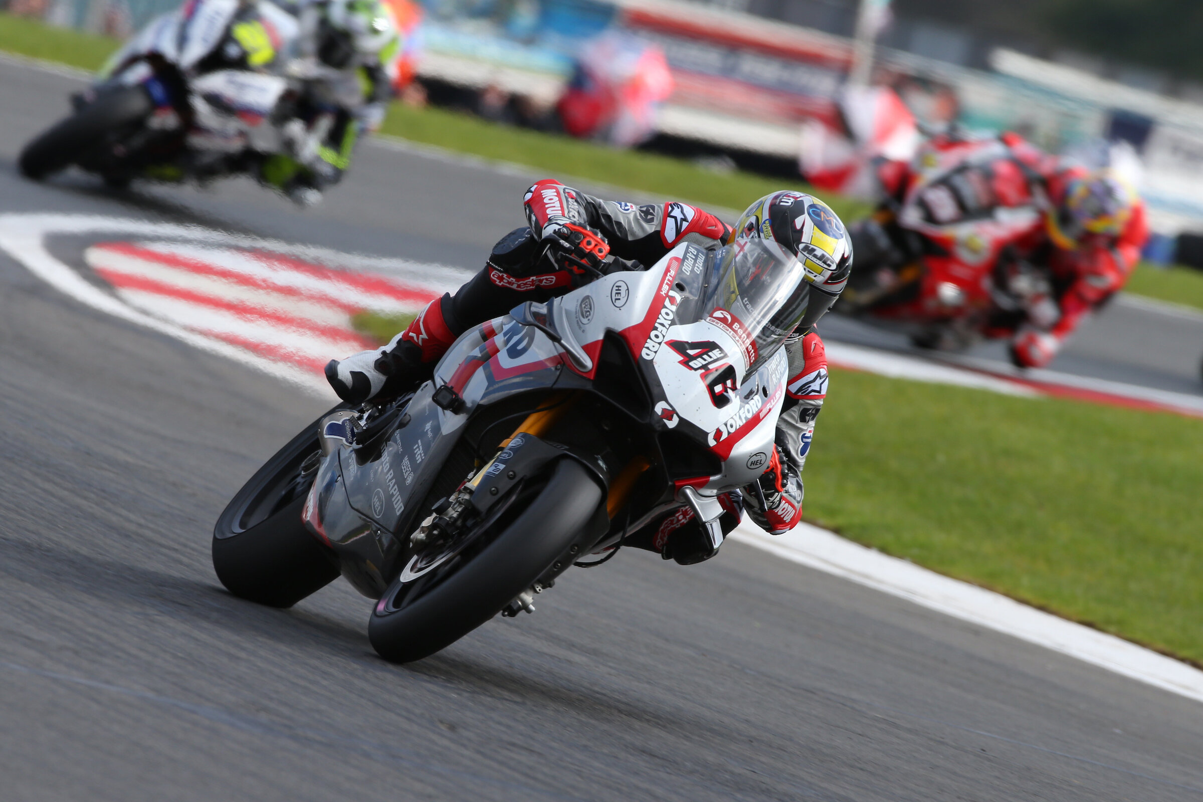 Tommy Bridewell leads Iddon and Brookes at Donington