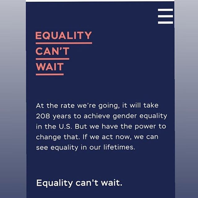 our lifetime would be a great time to experience gender equality! 👊 #triequal #5Q