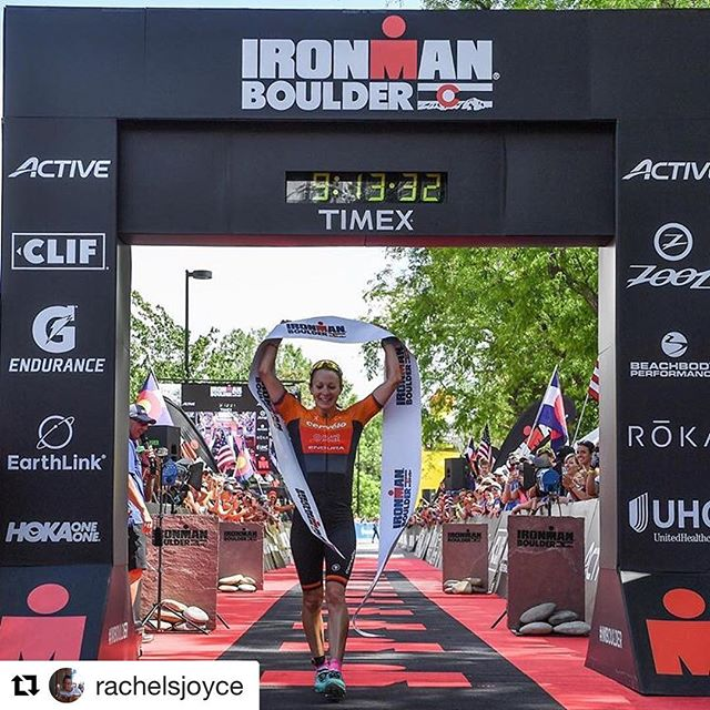 @triequal_ Board member Rachel Joyce goes the distance for equality...and the win at IM Boulder.