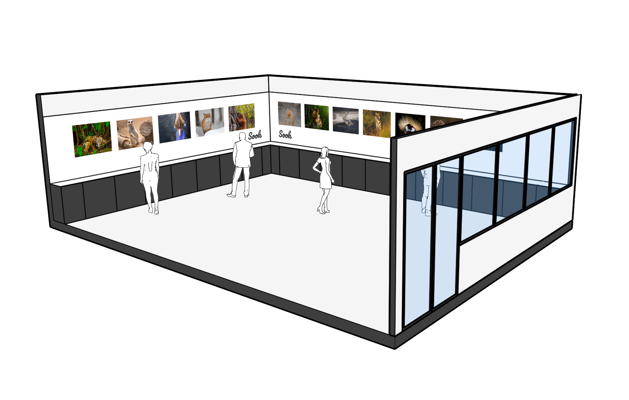 This is a Sook Exhibition Space -