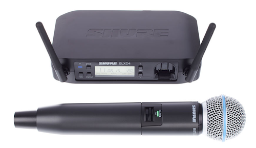 Hochwertiges Funkmikrofon von Shure - Zuverlässiges und sehr leistungsstarkes Funkmikrofon. Das Mikrofon erkennt automatisch Störsignale und wechselt selbstständig die Frequenz. Störgeräusche sind hiermit ausgeschlossen.Mietpreis 29€
