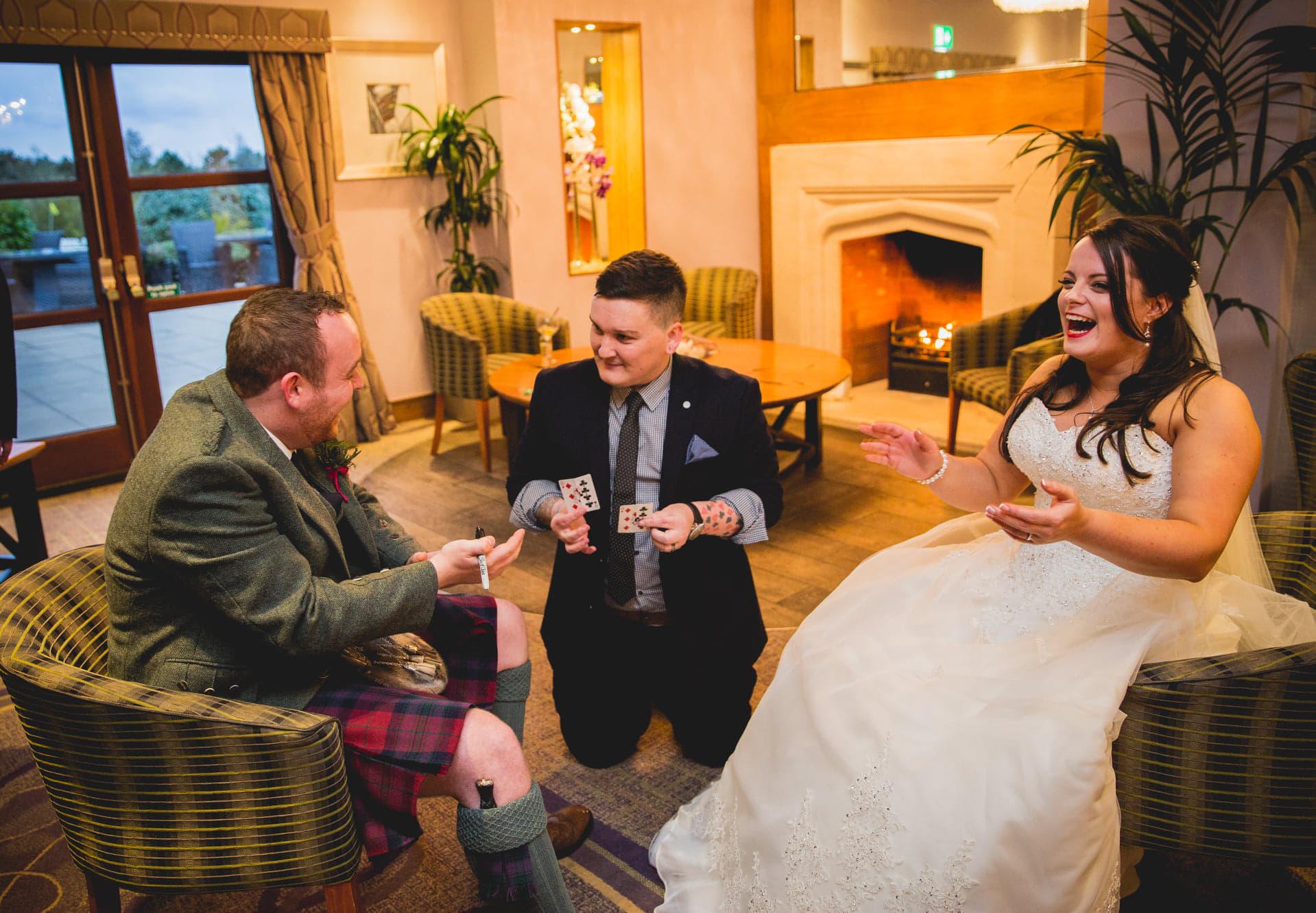 Andrew and Allison Clark's Wedding Photo: Heyes Images