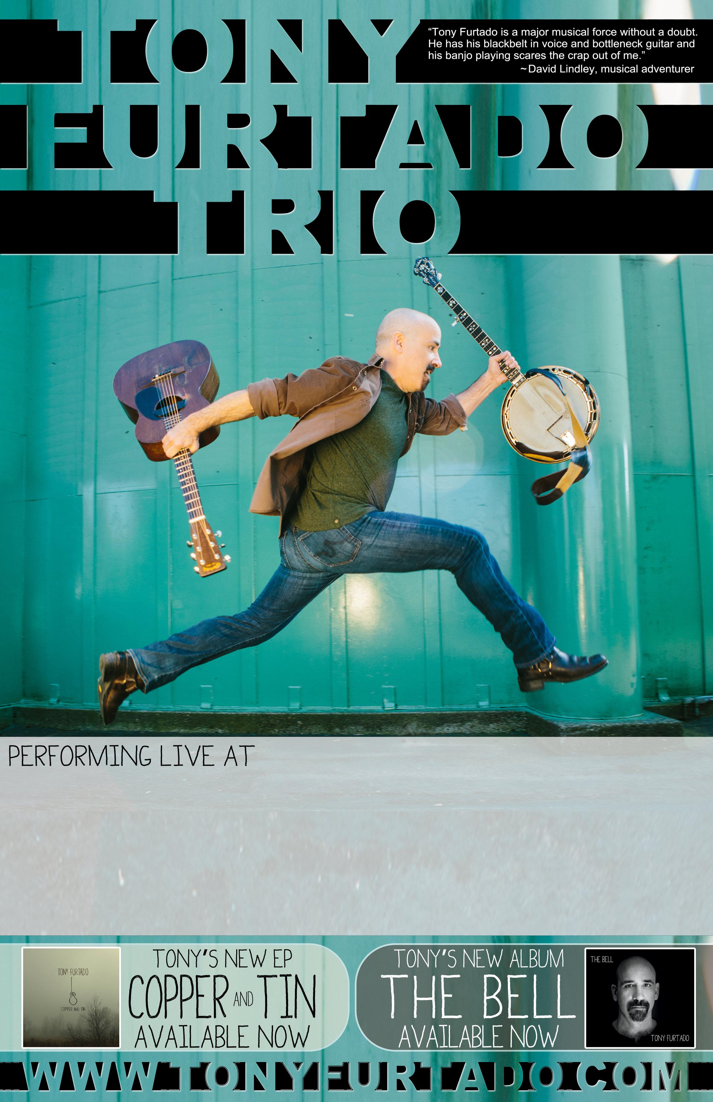 Tony Furtado TRIO Poster