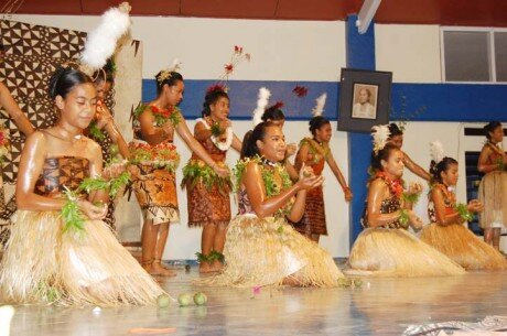 Queen Salote's vision back in the 1950's helps keep the tradition alive by taking Hiko into a Cultural Dance with the Queen Salote College.