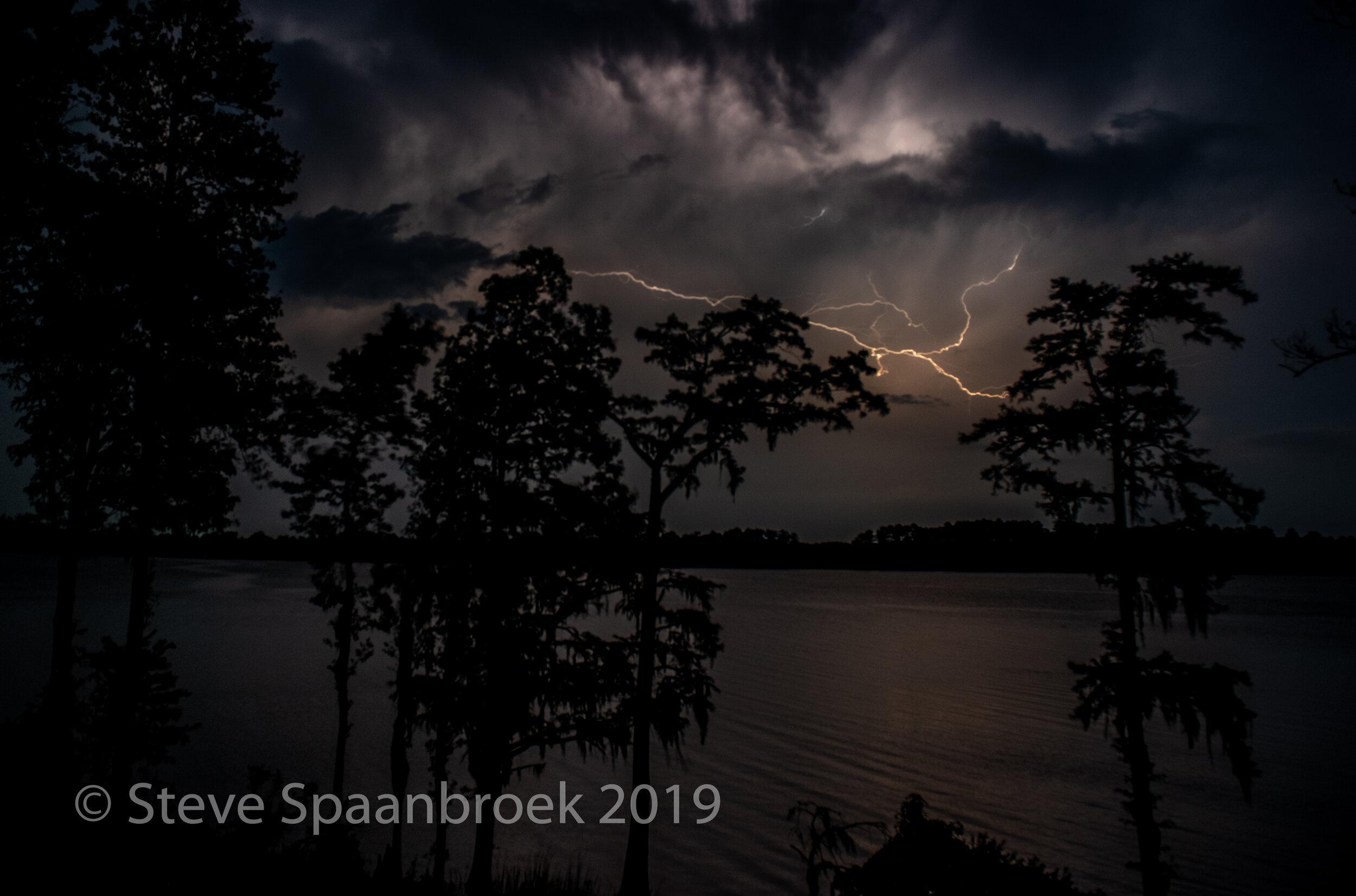 Thunderstorm over Chocowinity Bay