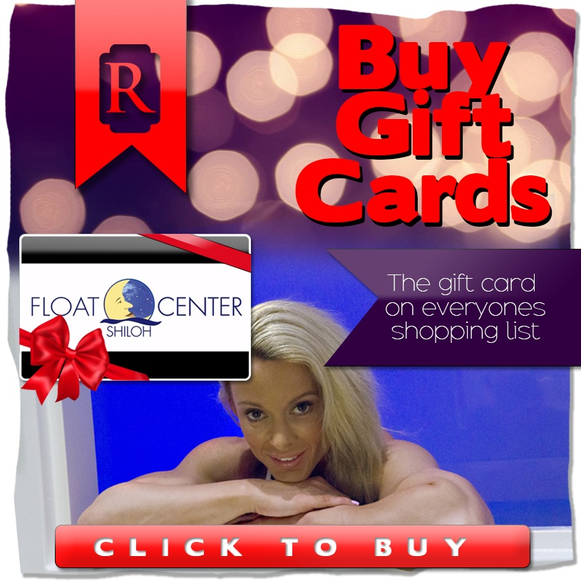 Purchase a gift card - Give the gift of floating