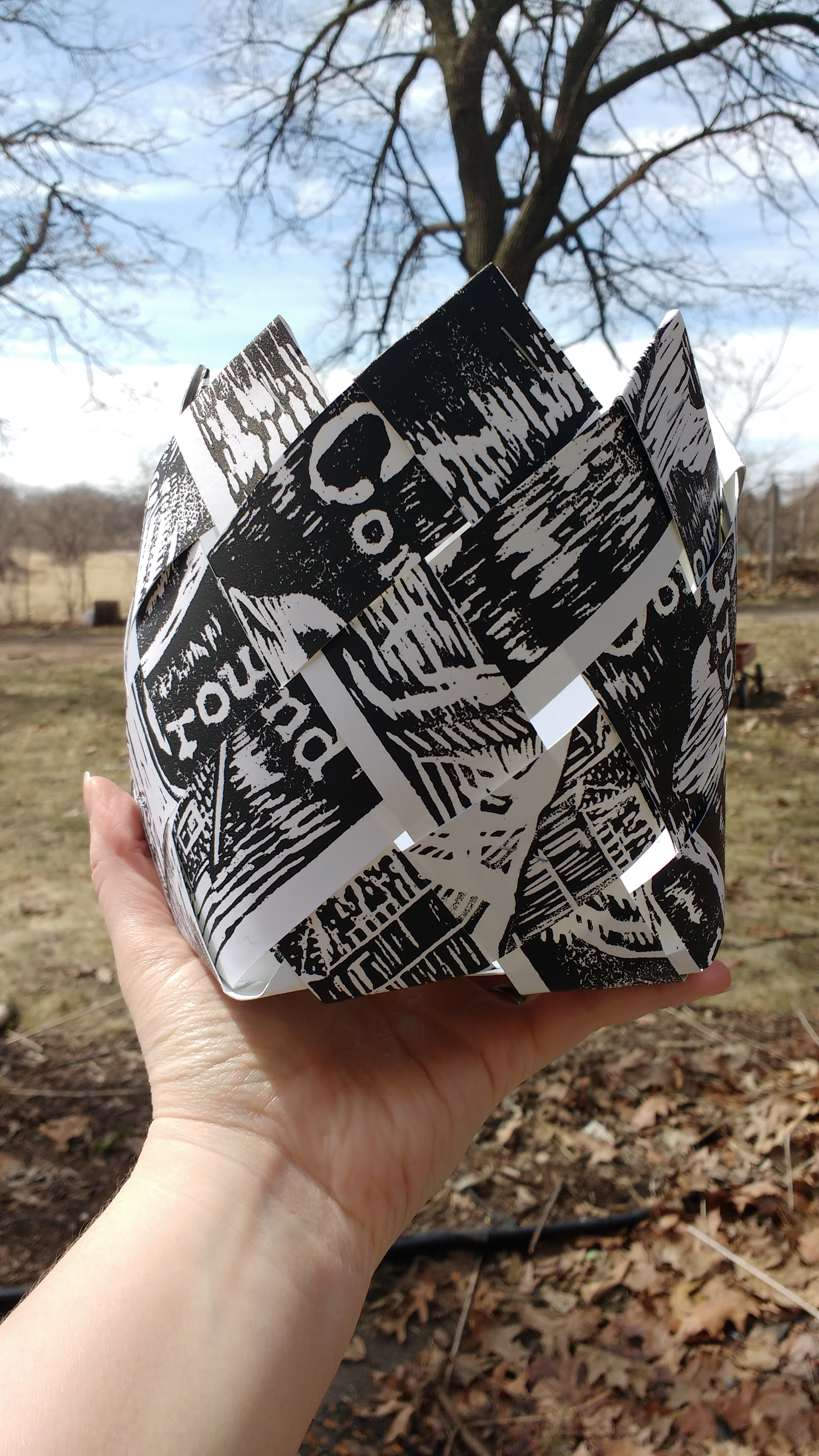 Upcycling Paper