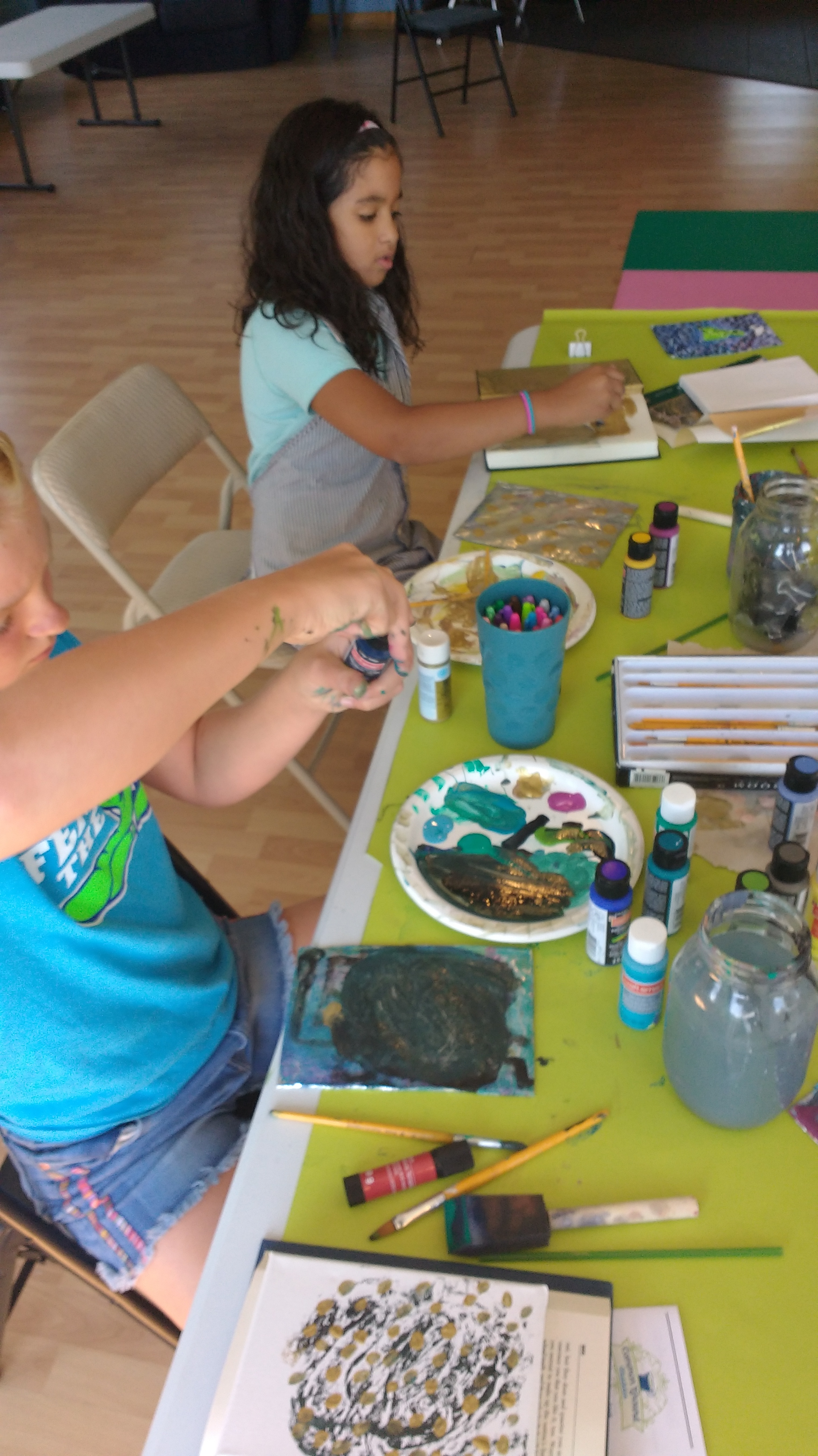 Tween art day camp at Common Ground
