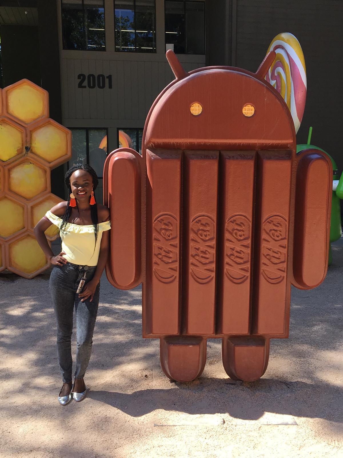 KitKat Android and Miss Independent spotted in Google Mountain View, CA