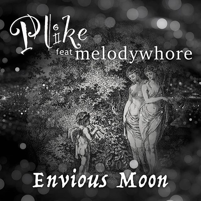 """Combining natural sounds and heavy electronic elements, for the very first time @plikemusic collaborates with the darkwave electronic maestro @melodywhore. ⠀⠀⠀⠀⠀⠀⠀⠀⠀ The very first single """"Envious Moon"""" is released TODAY! 😈👻 ⠀⠀⠀⠀⠀⠀⠀⠀⠀ """"Please welcome from Illinois, electronic music project: Plike. Breaking the rules, this musical project plays with our emotions and explores the darkest elements of our human psyche. Producer and composer Mad Madam Em and soundscape designer ASH are the masterminds behind this incredible outfit endlessly toying with our subconscious""""... 🤘 ⠀⠀⠀⠀⠀⠀⠀⠀⠀ Envious Moon is the aftermath of new beginnings, faith, and trust. Melodywhore abandons the need to be in control of his own art and hands over the project to Plike, who crafted an erotic and bewitching sound.🌙🌙🌙 ⠀⠀⠀⠀⠀⠀⠀⠀⠀ Read more about this project, LINK IN BIO!🌙"""
