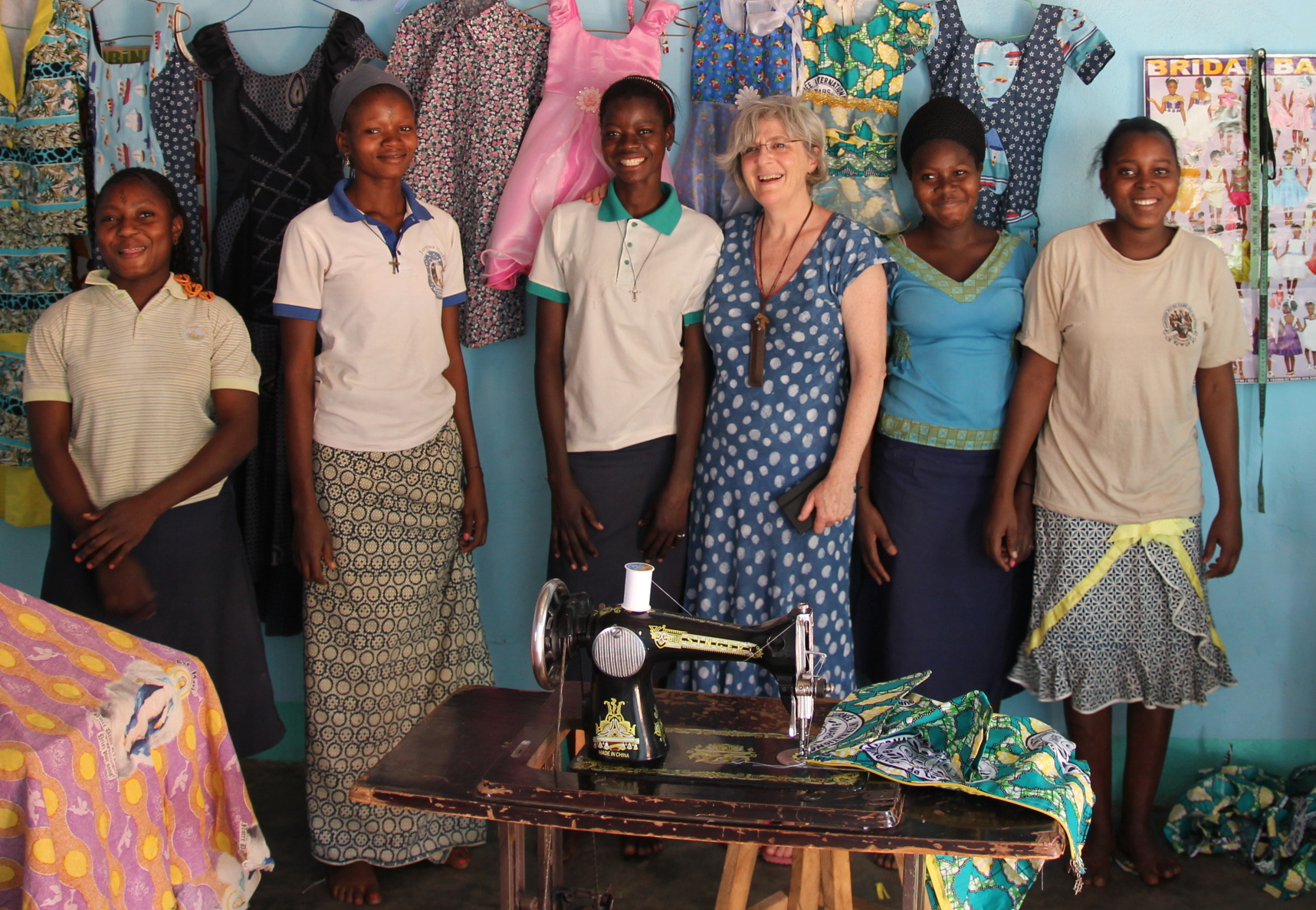 St Joseph's Training Centre - Being a seamstress is a great career …