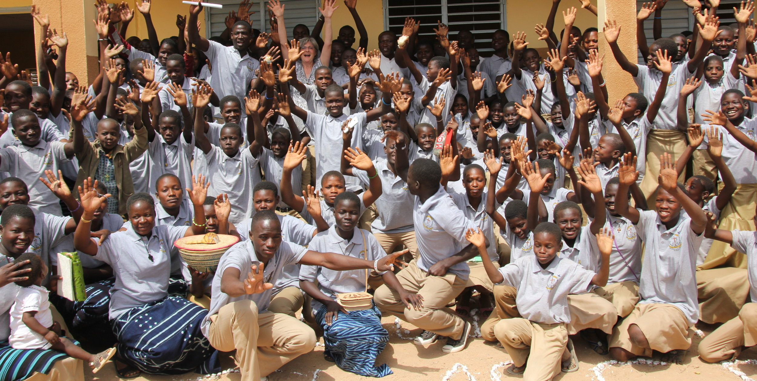 A much-needed secondary school - A primary school, but no secondary school …