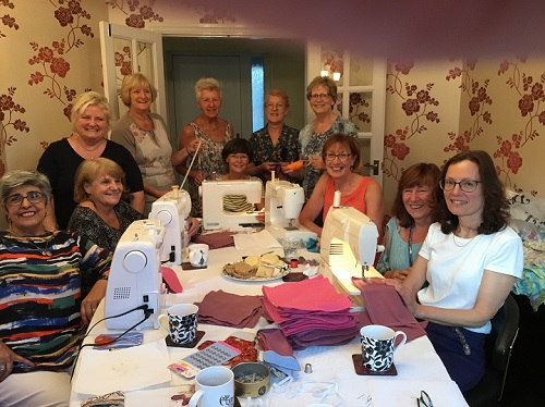 Soroptomists! - Thank you to all the seamstresses of Lichfield Soroptimists for your donations which have helped us to fund the training of seamstresses in Fada. Your help has also ensured that the roof to their dorm has been repaired and they will no longer be rained on. Thank you so much!